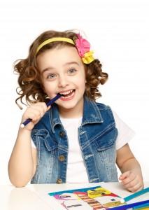 Bureau enfant pour petite fille