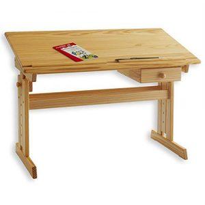 Véritable bureau en bois pour ado
