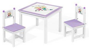 """Table et chaises pour enfants """"Friends forever"""""""