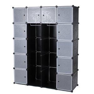 Armoire de rangement chambre enfant à cubes
