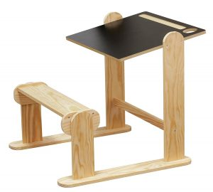 pupitre colier en bois loisirs cr atifs jb bois 247742 fiche test produit et avis bureau. Black Bedroom Furniture Sets. Home Design Ideas