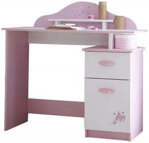 Bureau papillon rose
