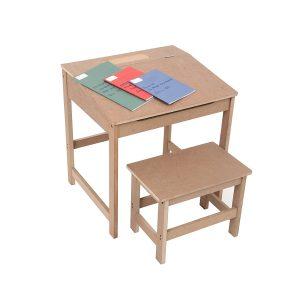 Bureau en bois pour écolier