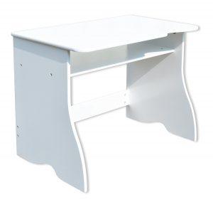 Bureau en bois blanc
