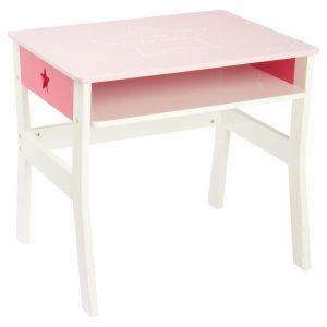 Bureau fille 5 ans de couleur rose