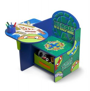 Bureau enfant coloré Tortues ninja
