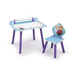 bureau la reine des neiges delta children fiche test produit et avis bureau enfant. Black Bedroom Furniture Sets. Home Design Ideas