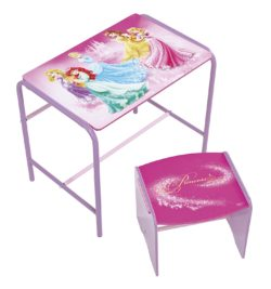 bureau enfant 5 ans disney princesse fiche test produit et avis bureau enfant. Black Bedroom Furniture Sets. Home Design Ideas
