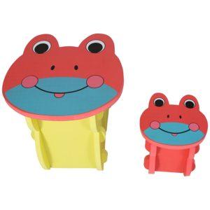 Table et chaise grenouille pour enfant