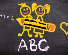 Apprentissage de l'ecriture chez l'enfant
