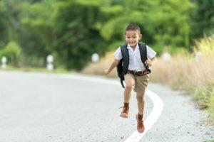 Votre enfant part à l'école seul