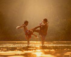 Sport de combat chez l'enfant